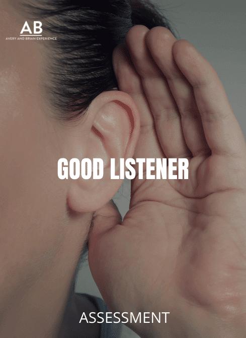 Person holding hand near ear to listen - Good listener
