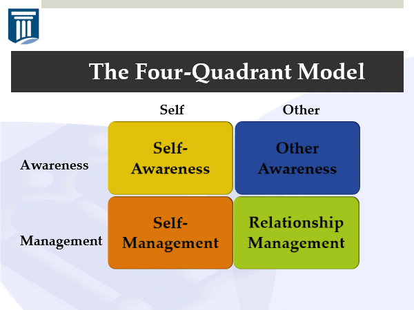 The four-quadrant model of awareness and management