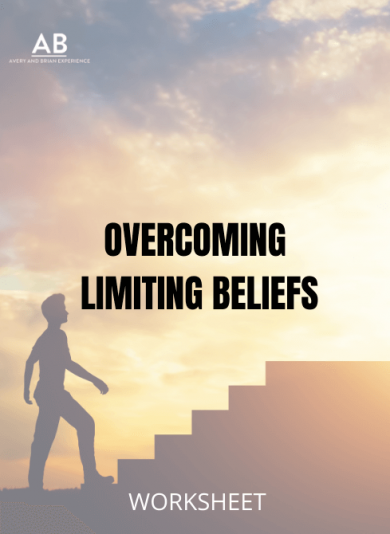 A man standing near stairs - Overcoming limiting beliefs